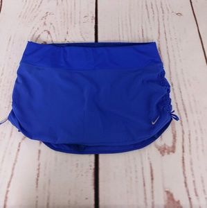 Nike Dri-Fit Blue Rival Stretch Medium Skirt Skor